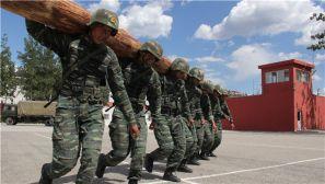 北京武警特战队员结束魔鬼周训练  洪荒之力再现