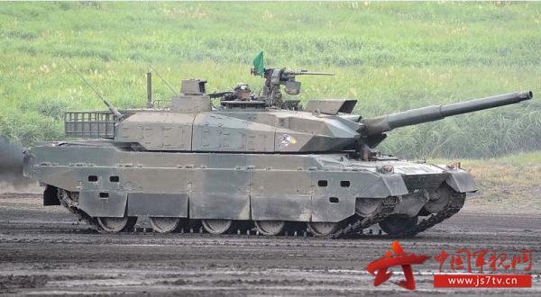 美媒揭秘日本10式坦克性能:或用于出口