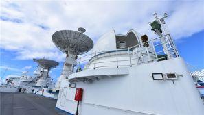 """""""远望""""7号:抵达任务海域  首次执行载人航天任务"""