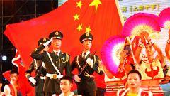炫彩文化:武警北京总队扮靓军营