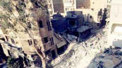 阿勒颇受袭致平民伤亡 俄方宣布暂时停火