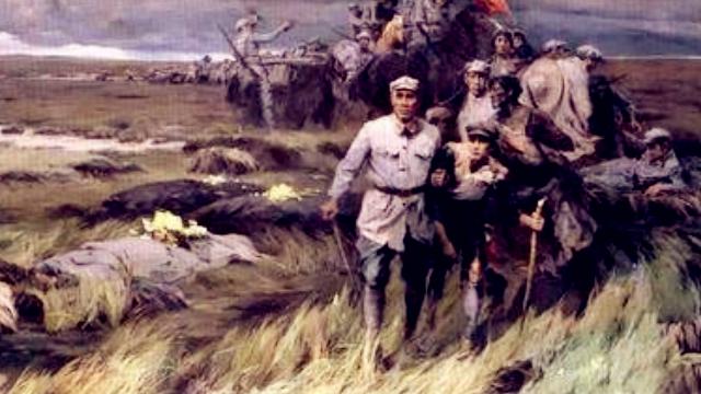 数说长征:英勇转战十几省 到达陕甘六万人