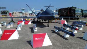"""【中国国际航展】抢先看!""""云影""""无人机和挂载弹一族"""