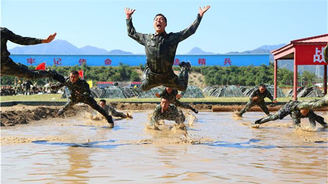 武警北京总队十一支队传承红色基因磨砺血性斗志回眸