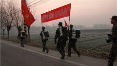 武警北京总队新兵八营组织野营拉练纪实