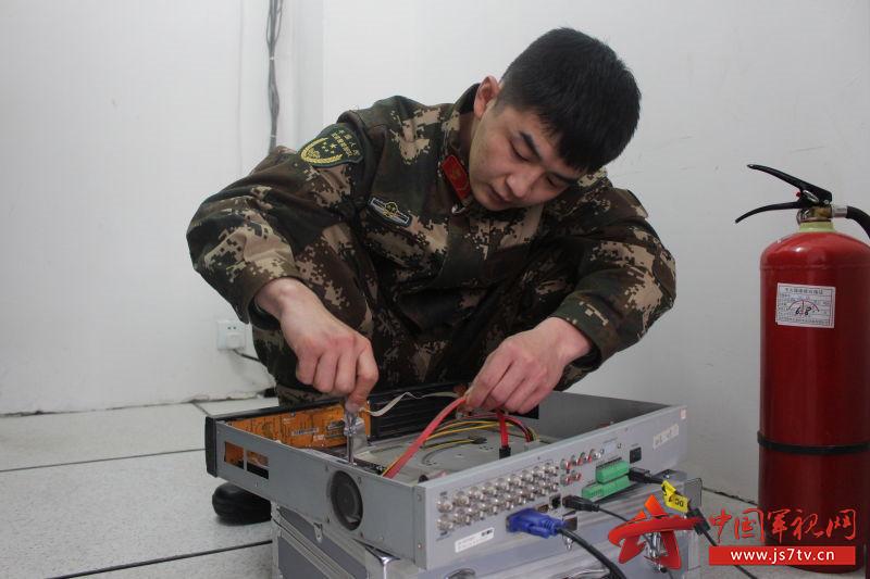 检测维修一次设备,再发挥一次余热