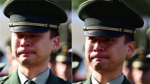 退伍季丨老兵哭成泪人,原来是因为……