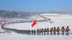武警抚顺支队:林海雪原大练兵
