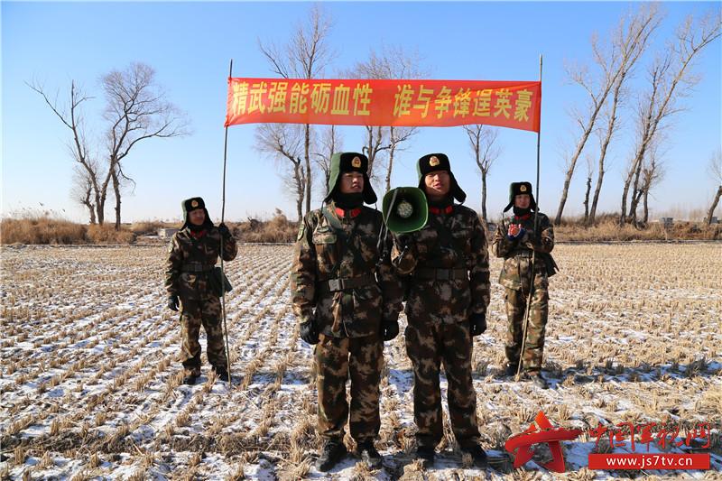 """武警8613部队拉练途中政治""""生命线""""焕发战斗力"""