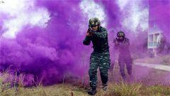 福建武警特战分队:1+1>2凸显协同作战效能