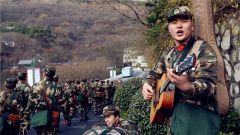 武警江苏总队冬季野营拉练出征