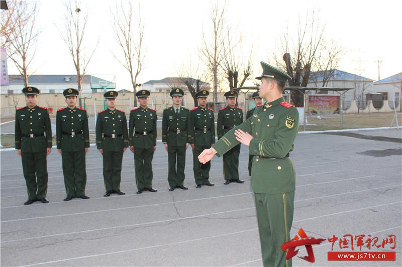 武警北京总队八支队:迎接新战友,展现新风貌