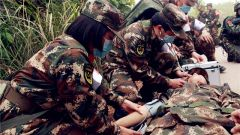 武警广西总队医院实战演练锻造卫勤尖兵