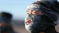 什么样算是极寒条件下练兵?连眉毛都结了冰