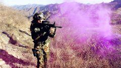 武警北京总队某部开展实战化山地捕歼战斗演练