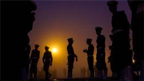 印度举行共和国日阅兵排练