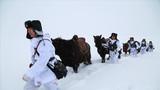 边防官兵零下20°C踏雪巡逻