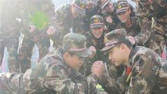 北京武警:新战友适应基层生活了吗