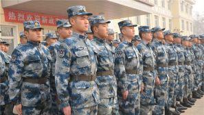 新年开训!中部战区空军导弹某团组织新兵复训