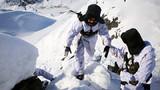 -36℃,新疆塔克什肯边防官兵踏雪巡边