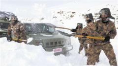 碾冰轧雪,锤炼运输保障能力