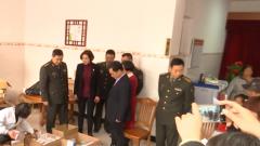浙江省军区义诊队: 特殊年货进山村