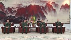 范长龙会见越南国防部长