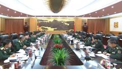 常万全与越南国防部长吴春历举行会谈