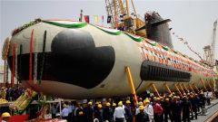 """印度第二艘""""鲉鱼级""""潜艇下水 将进行严格测试"""