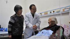 104岁老人胆结石,手术获成功