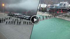 极限航拍 | 揭秘武警海拔4000米大练兵