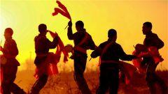 """速来围观武警山西总队朔州支队的""""兵哥腰鼓队"""""""