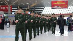 武警河南总队全面启动春运安保勤务