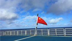 远望5号船远航135天 六战六捷回家过年!