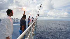 船舶遇险怎么办?远望5号船海上救生信号保障安全