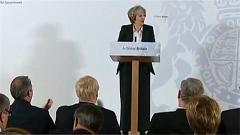 """英国首相:英不会保留""""部分欧盟成员""""身份"""