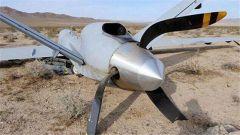 一架无人机在阿富汗东部坠毁