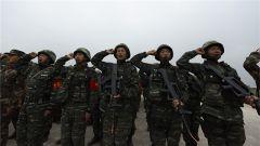 西双版纳支队军事训练伴随着官兵的铮铮誓言火热展开