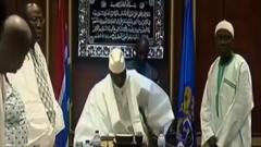 冈比亚前总统贾梅交出总统权力 政治危机和平解决