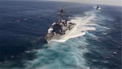 """美航母战斗机群""""巡航""""南海 声称要采取果断措施"""