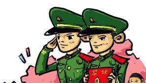 【精锐之师漫画】那些执勤安保尖兵