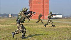 武警湖北总队按实战标准打造特战尖兵