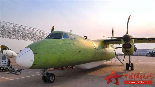 这架新型号飞机神秘设备是什么