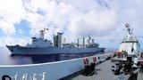 从舰载直升机飞行员视角看中国海军舰队出访精彩瞬间