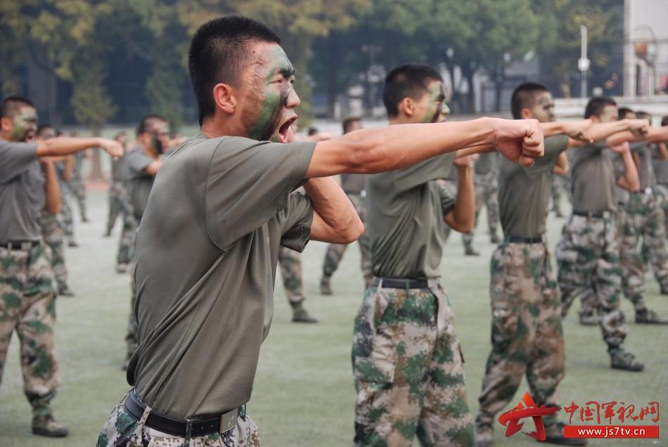 国防生拳术队