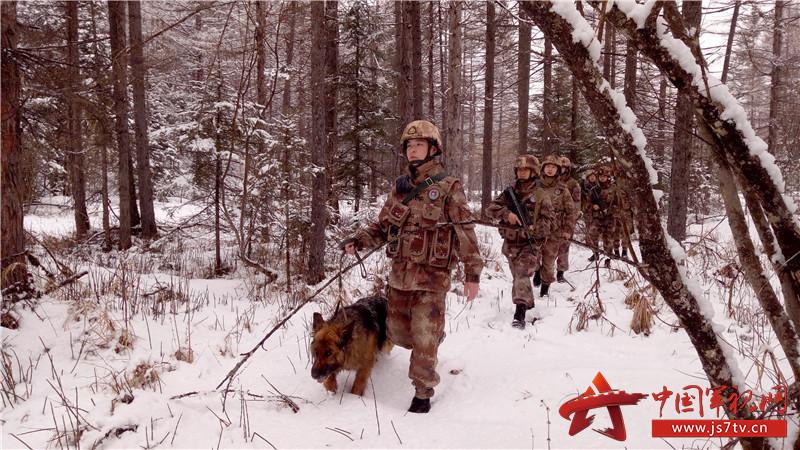 茫茫林海雪原,边关如画,兵与冰是一道最美的风景