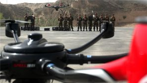 甘肃:武警森林部队多旋翼无人机将投入火场