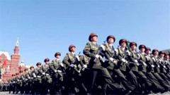 俄胜利日阅兵展示新导弹 北极装备展示俄雄心
