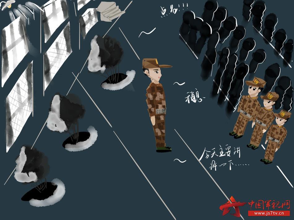 【校园萌漫】带你走进军校学员的一天
