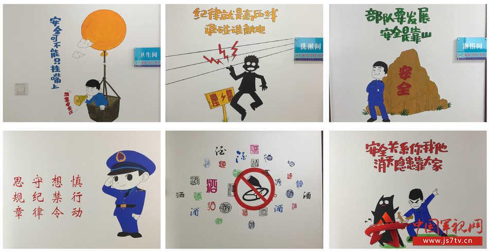 安全教育墙画